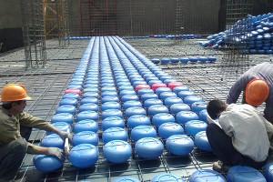اجرای سقف کوبیاکس