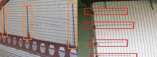 نصب تری دی پانل به تیر و ستون (مراحل اجرای 3d پانل)