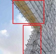اجرای 3d پانل (اتصال u شکل در دیوار های تریدی پانل)