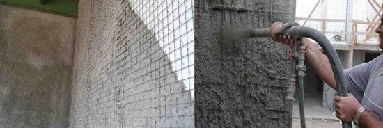 شاتکریت روی سطح دیوارهای تری دی پانل (مرحله به مرحله اجرای 3d پانل)