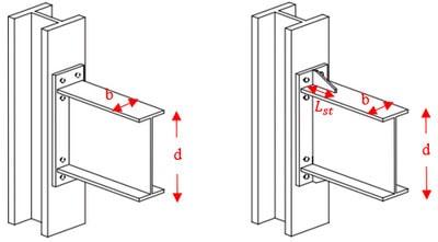 سخت کننده در طراحی اتصال فلنجی