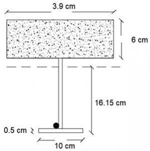 موقعیت تار خنثی در تیرچه (مرحله به مرحله محاسبه و طراحی سقف تیرچه کرومیت )