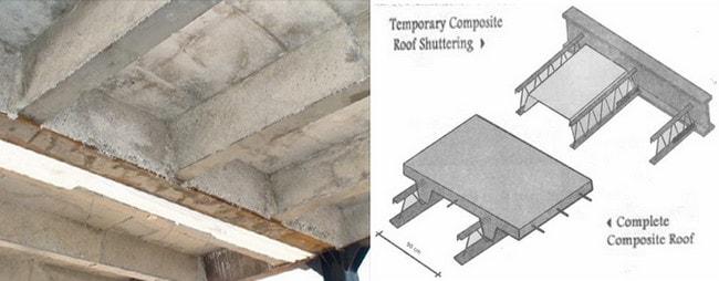 سقف کامپوزیت کرومیت