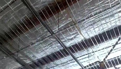 اجرای سقف کرومیت پلی استایرن با بلوک پلیمری