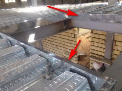 فلاشینگ عرشه فولادی (مرحله به مرحله اجرای سقف عرشه فولادی)