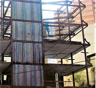 دیوار برشی فلزی