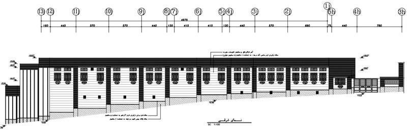 طراحی فاز دو معماری مجتمع آموزشی