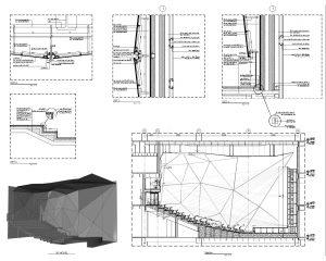 پروژه فاز دو معماری سالن سینما آیمکس
