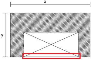 نامنظمی هندسی در اثر بازشو در دیافراگم