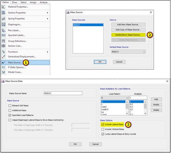تنظیمات مد های انتقالی تحلیل دینامیکی طیفی در ایتبس