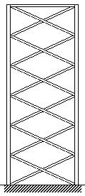 استفاده از قاب مهاربندیشده جهت افزایش سختی سازه (روش های افزایش سختی ساختمانها )