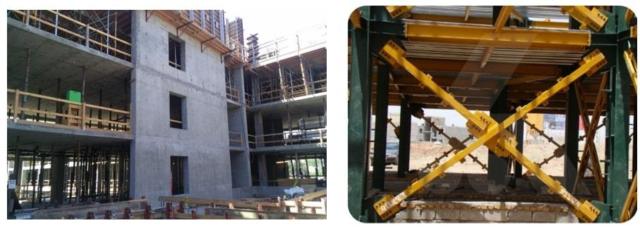 مقاومسازی با دیوار برشی بتنی و یا بادبند در ساختمانها