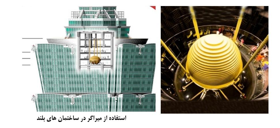 استفاده از میراگر در ساختمان های بلند