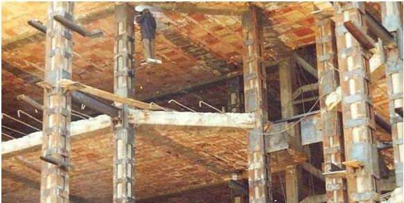 استفاده از ژاکت فلزی برای مقاومسازی ساختمانهای بتنی
