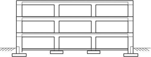 تراز پایه در ساختمان بدون زیر زمین