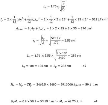 طراحی تیر پیوند به صورت گام به گام و با حل یک مثال جامع