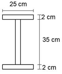 مقطع تیر ورق برای طراحی تیر پیوند