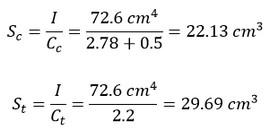 محاسبه اساس مقطع الاستیک در قالب یک مثال