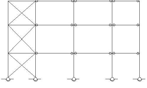 قاب ساختمانی ساده به عنوان یکی از سیستم های سازه ای