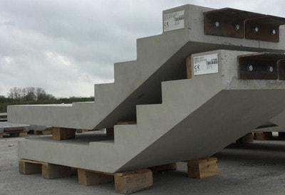 رمپ پله بتنی پیش ساخته