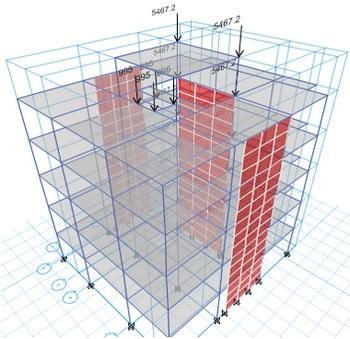 مدلسازی راه پله در ایتبس