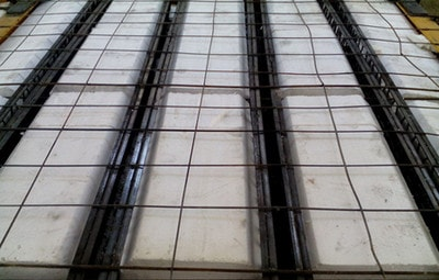 سقف کرومیت به عنوان سقف دارای دال یک طرفه