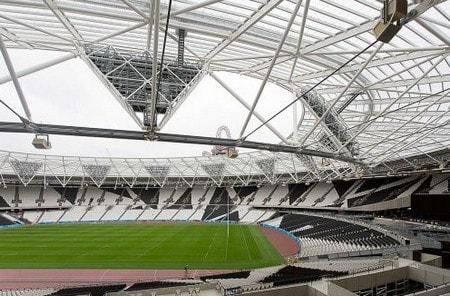 ساخت استادیوم ورزشی با استفاده از مقاطع HSS