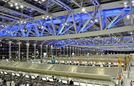 ساخت سالن فرودگاه با استفاده از مقاطع توخالی فولادی