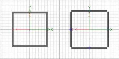 تفاوت مدلسازی مقاطع Box و Tube که هردو جزو مقاطع توخالی فولادی هستند