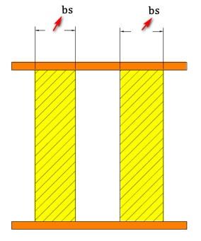 محاسبه عرض سخت کننده عرضی تیر ورق