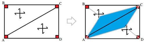 نحوهی محاسبهی سطح بارگیر تیرهای مورب در دال های دو طرفه