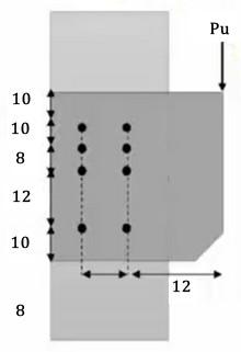 طراحی اتصال پیچی با کمک نیروی برشی و لنگر پیچشی