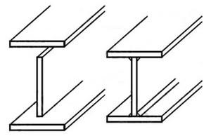 ساخت تیر ورق با استفاده از سه ورق مجزا