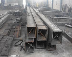 ساخت مقاطع باکس یا قوطی در کارخانه ها توسط 4 ورق