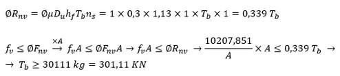 مثال طراحی اتصالات اصطکاکی پیچ ها در اثر نیروی برشی و لنگر پیچیشی