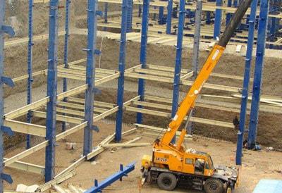 اجرای ستون فولادی (گام به گام آموزش تیپ بندی ستون ها)