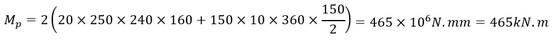 محاسبه اساس مقطع پلاستیک با کمک فرمول