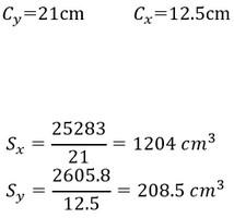 اساس مقطع الاستیک را چگونه محاسبه کنم؟