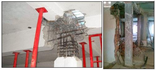 مقاوم سازی ستون های ساختمان در طراحی عملکردی