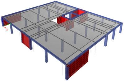 مدلسازی سازه با قاب ساختمانی بر اساس طراحی عملکردی