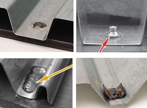اتصال مکانیکی سقف عرشه فولادی