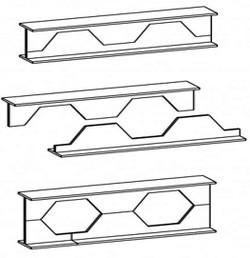 طراحی تیر مفصلی لانهزنبوری