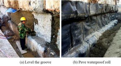 ساخت آب بند در روش تاپ دان