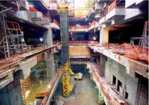 خروج مصالح ساختمانی پس از خاکبرداری