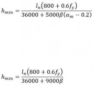 محاسبات طراحی دال بتنی یکطرفه و دو طرفه