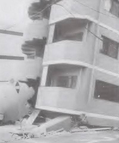 آسیب های وارد بر ساختمان در اثر ایجاد طبقه نرم