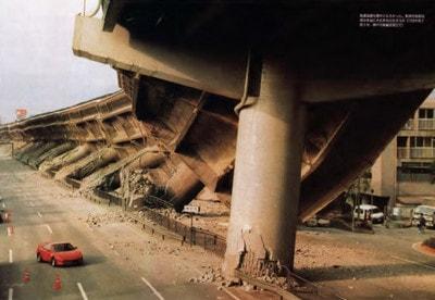 شکست خمشی در پایه ستون های بتنی در اثر زلزله
