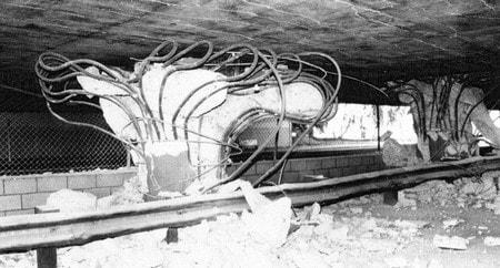 آسیب های وارد بر سازه ی پل به دلیل نیروی زلزله
