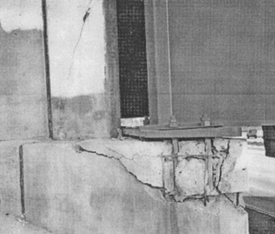 تسلیم یاتاقان پل و فرو ریزش پل بر اثر زلزله (آسیب های وارد بر پل بر اثر نیروی زلزله)