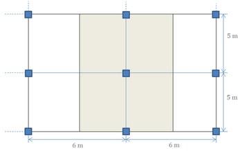 مثال طراحی دال بتنی